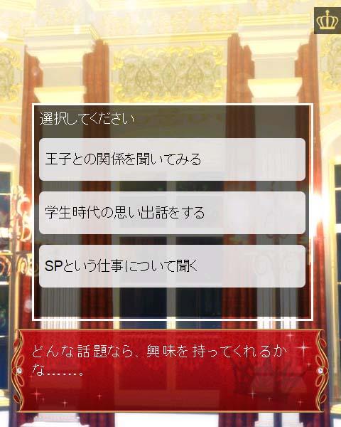 選択肢 【女性向け】 王族探偵